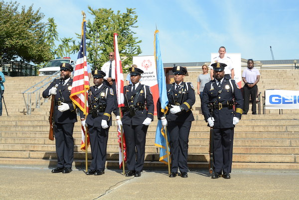 Torch Run Honor Guard